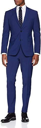 Esprit Men's 048eo2m001 Suit, (Bright Blue 410), (Size: 54)
