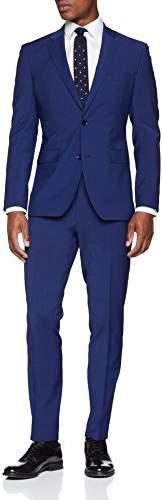 Esprit Men's 048eo2m001 Suit, (Bright Blue 410), (Size: 90)