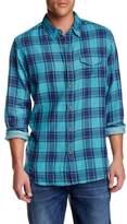 Lucky Brand Plaid Long Sleeve Regular Fit Shirt