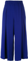 P.A.R.O.S.H. wide leg cropped trousers - women - Polyester - M