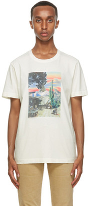 Nudie Jeans Off-White Someplace Collage Roy T-Shirt