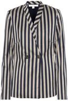 Jonathan Simkhai Striped cotton-blend blazer