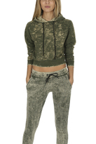 Cotton Citizen Milan Cropped Pullover Hoody