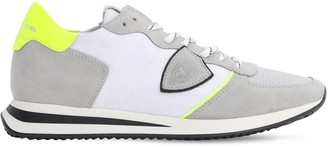 Philippe Model Trpx Mondial Plus Suede & Nylon Sneakers