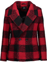 Line Martin checked wool-blend jacket