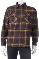 Woolrich Men's Hikers Trail Modern-Fit Flannel Button-Down Shirt