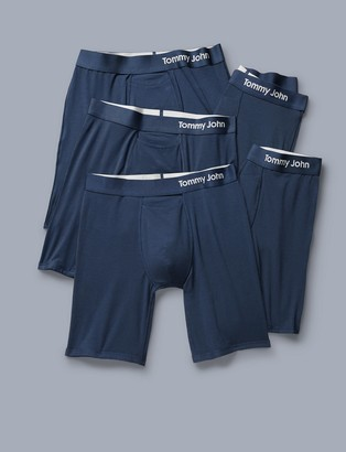Tommy John Cool Cotton Boxer Brief 5 Pack