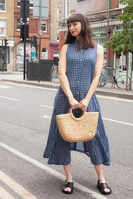 Dream Safari Dress Blue - S