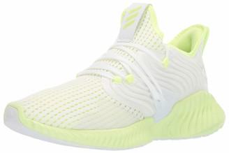adidas Men's Alphabounce Instinct CC White Yellow 14 M US