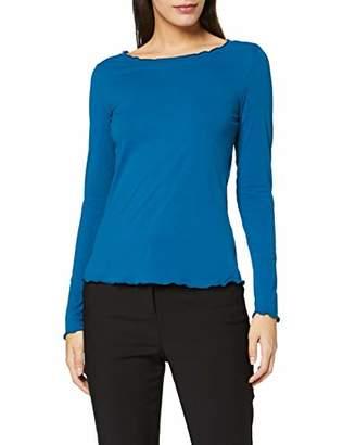Comma Women's 81.911.31.36 Longsleeve T-Shirt,8 (Size:)
