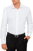 Canali Cotton Micro Struct Plain Shirt