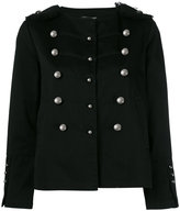 Twin-Set double-breasted military jacket