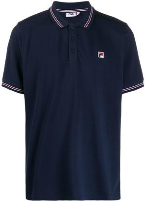 Fila Logo-Patch Polo Shirt