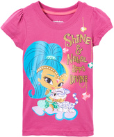 Children's Apparel Network Purple Shine & Nahal 'BFF Divine' Tee - Toddler