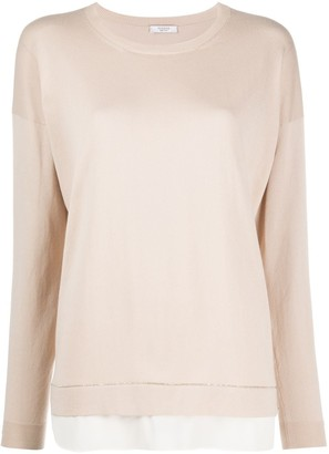 Peserico double layer jumper