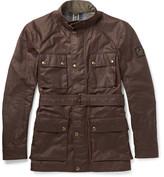Belstaff Roadmaster Slim-fit Waxed-cotton Jacket