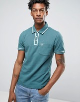 Original Penguin Slim Fit Pocket Polo Shirt with Tipping