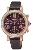 Seiko Women's SRW018 Leather Quartz Watch