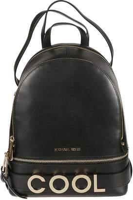 Michael Kors Rhea Medium Embellished Backpack
