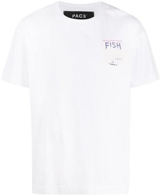 PACE 'Fish' print T-shirt