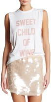 The Laundry Room Sweet Child of Wine Muscle Tee