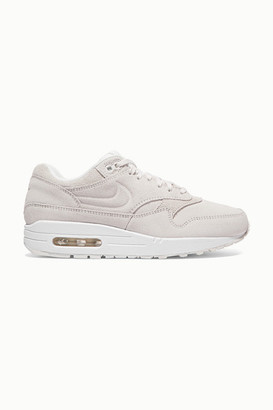 Nike Air Max 1 Premium Suede Sneakers - White