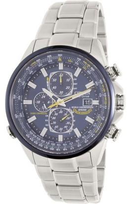 Citizen Men's Eco-Drive Blue Angels Chronograph Atomic Watch, AT8020-54L