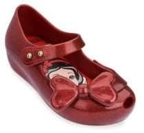 Mini Melissa Baby's, Little Girl's& Girl's Ultragirl Snow White Mary Jane's - Red - Size 5 (Child)