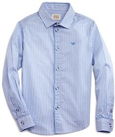 Armani Junior Armani Boys' Striped Dress Shirt - Sizes 4-16