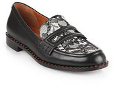 Marc by Marc Jacobs London Calling Leather & Lace Loafers