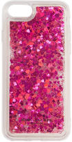 Marc Jacobs Pink Floating Glitter iPhone 7 Case