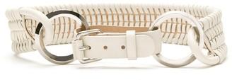Nk Woven Leather Belt