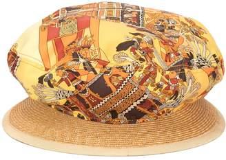 Hermes Pre-Owned printed sun hat