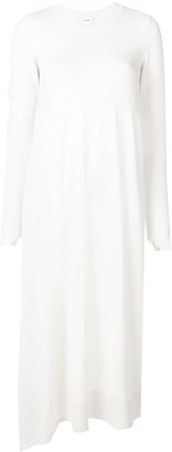Barrie Flared Round Neck Dress