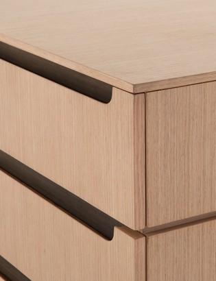 Lulu & Georgia Rolanda 6-Drawer Dresser, Oak