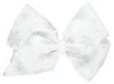 George Glitter Snowflake Bow
