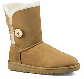 UGG Bailey Button Sheepskin Booties
