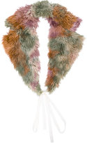 MM6 MAISON MARGIELA fur-lined scarf