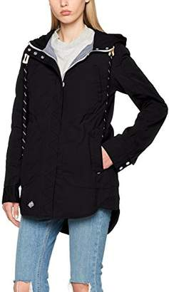 Khujo Women's NAVASSA Washed Nylon Jacket Black 200, UK