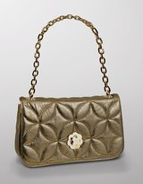 Eric Javits Dance Quilted Leather Clutch