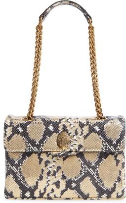 Kurt Geiger 690 Kensington Snake Embossed Leather Crossbody Bag