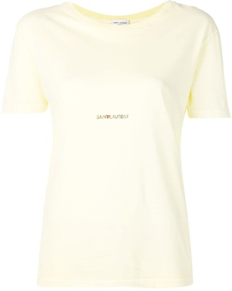 Saint Laurent logo-print T-shirt