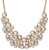 SUGARFIX by BaubleBar Pearl Bib Necklace - Pearl