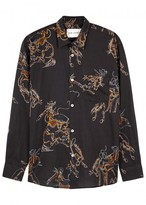 Our Legacy Rodeo-print Cotton Shirt