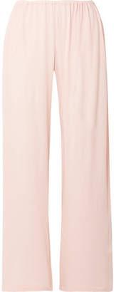 Skin - Kaelen Organic Pima Cotton-jersey Pajama Pants - Pastel pink
