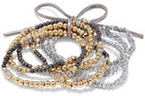 New York & Co. 7-Piece Beaded Stretch Bracelet