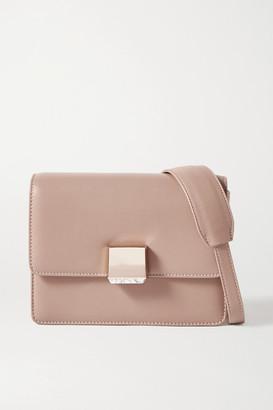 Gabriela Hearst Mercedes Leather Shoulder Bag - Beige