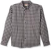 Wrangler Men's Big and Tall Authentics Long Sleeve Premium Gingham Shirt
