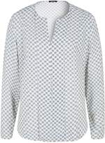 Olsen Blouse frost pattern print