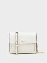 DKNY Saffiano Chain Mini Flap Crossbody